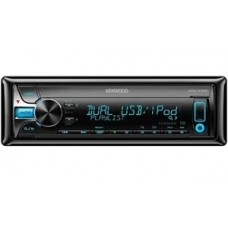 Kenwood KDC-X400 CD receiver with dual USB/iPhone/iPad/pandora