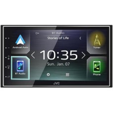 "JVC KW-M741BT 6.8"" touchscreen Bluetooth, FM Radio, DVD player"